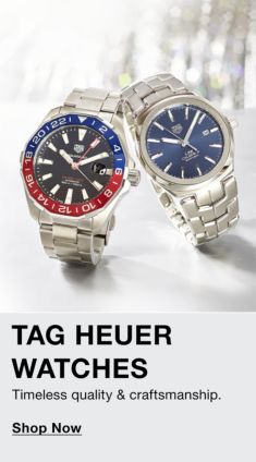 Tag Heuer Watches Timeless quality and Craftsmanship, Shop Now