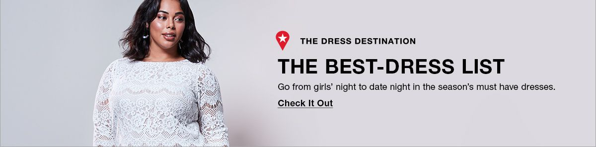 The Dress Destination, The Best-Dress List, Go from girls' night to date night in the season's must have dresses, Check It Out