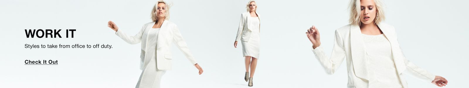 Work it, Styles to take from office to off duty, Check it Out