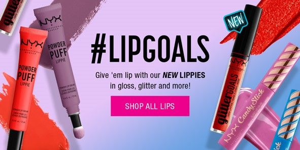 Lipgoals, Give 'em lip with our New Lippies in gloss, glitter and more! Shop All Lips