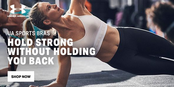 UA Sports Bras, Hold Strong Without Holding You Back, Shop Now