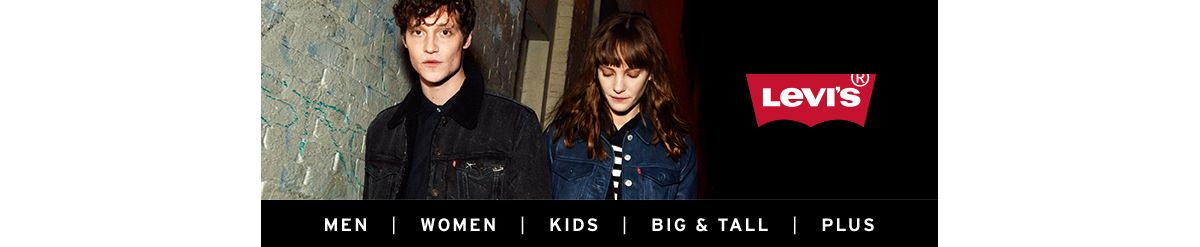 Levi's, Men, Women, Kids, Big and Tall, Plus