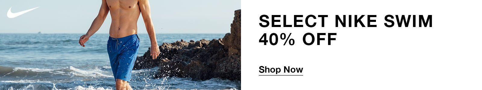 Select Nike Swim 40% off