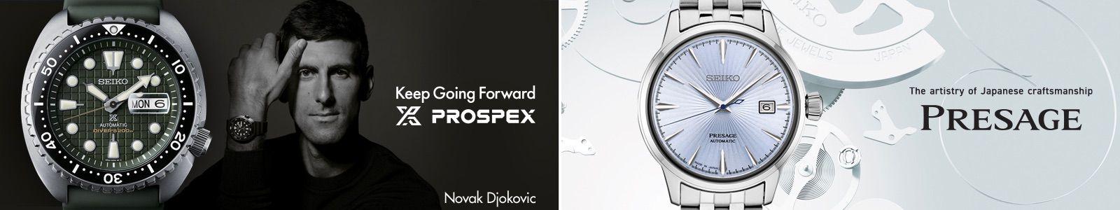 Keep Going Forward, Novak Djokovic, The artistry of japanese craftsmanship, Presage