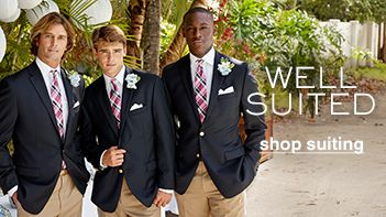 Well Suited, shop suiting
