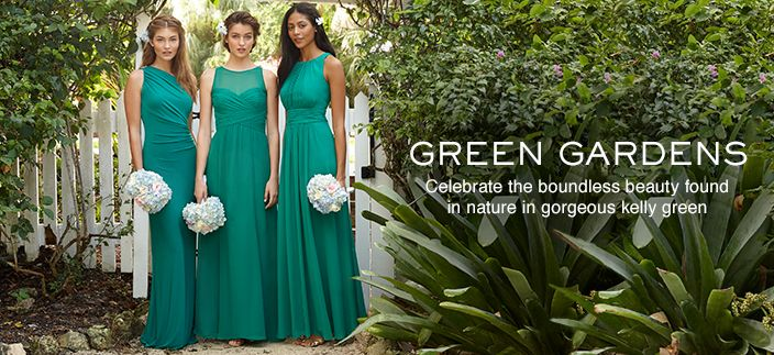 Green Gardens, Celebrate the boundless beauty found in nature in gorgeous kelly green