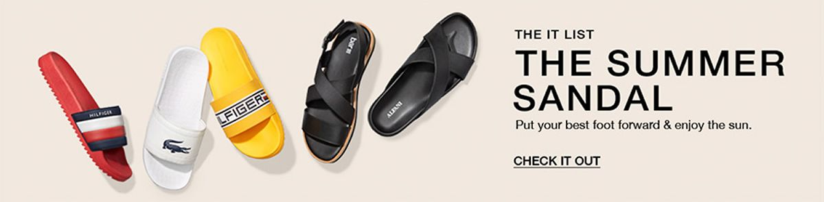The It List The Summer Sandal, Put your best foot forward and enjoy the sun, Check It Out