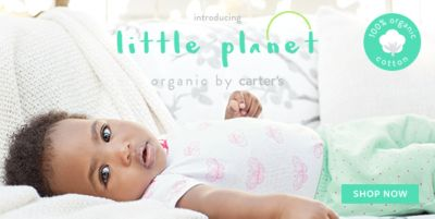 Introducing, Little planet, organic by carter's, Shop Now