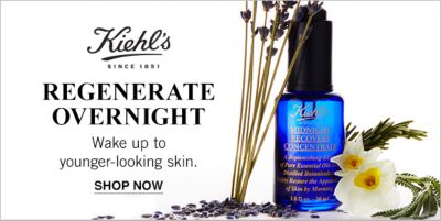 Kiehl's, Regenerate Overnight, Wake up to younger-looking skin, Shop now