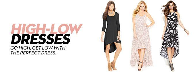 High-Low Dresses