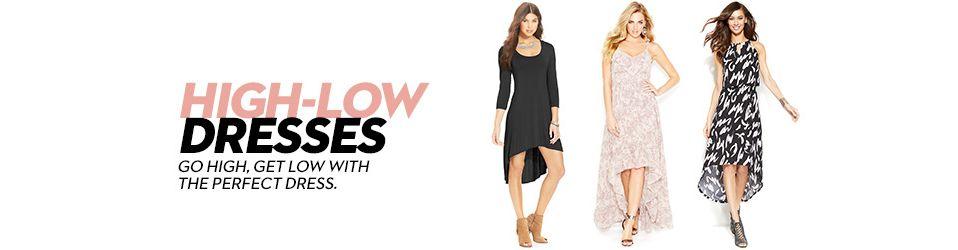 310e9ad0 Highlow Dresses: Shop Highlow Dresses - Macy's