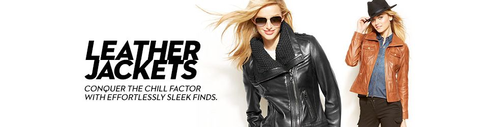 84edfef9d5 Leather Jackets - Mens & Womens Styles: Shop Leather Jackets - Mens ...