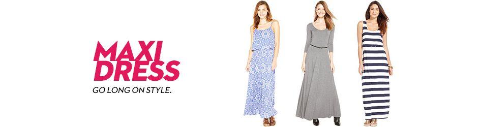 3290ae41a53 Maxi Dress: Shop Maxi Dress - Macy's