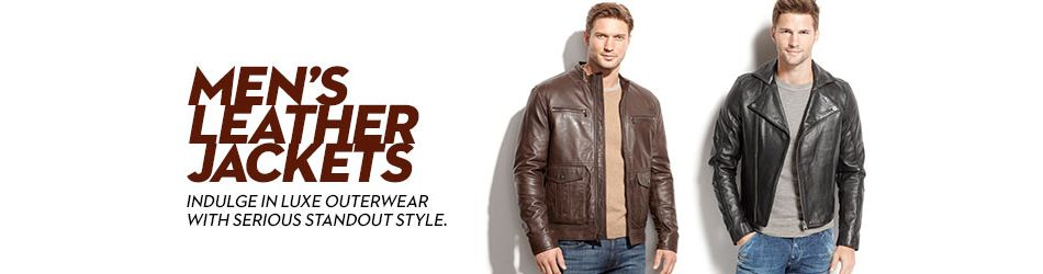 8566c26008 Men's Leather Jackets & Men's Leather Coats - Macy's