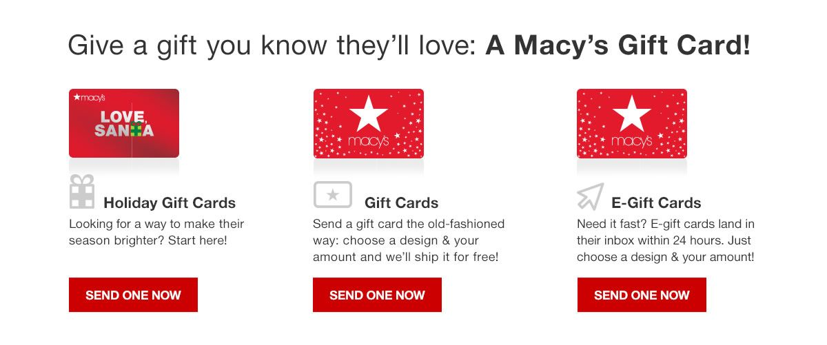 give a gift you know theyll love a macys gift card holiday