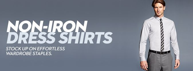 Non-Iron Dress Shirts