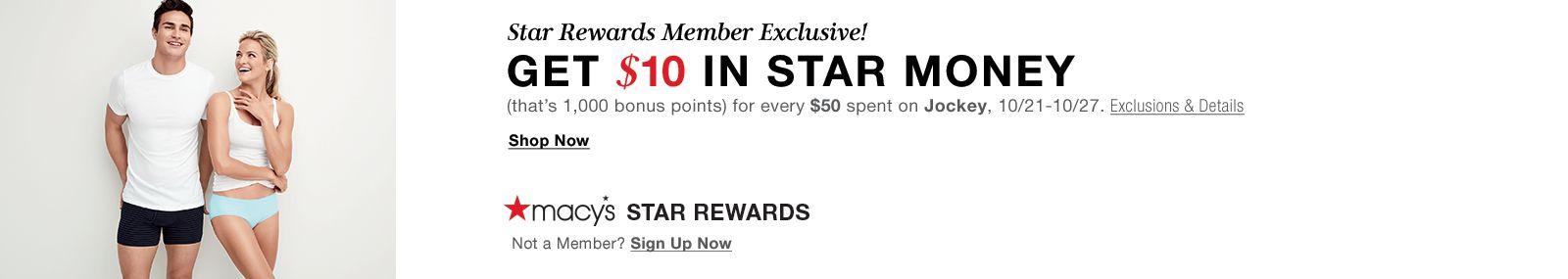 Jockey Star Rewards