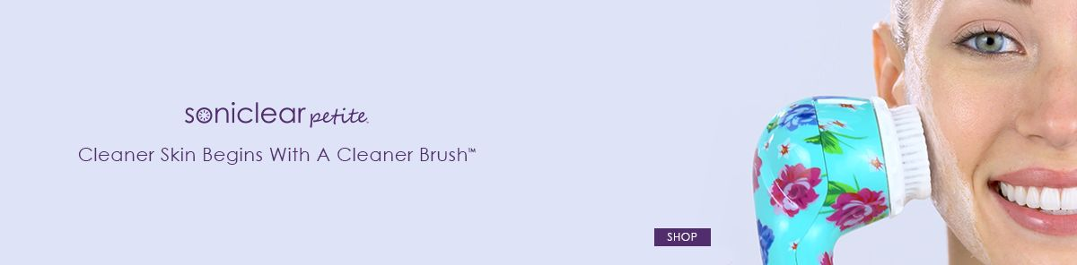 Soniclear petite, Cleaner Skin Begins With a Cleaner Brush, Shop