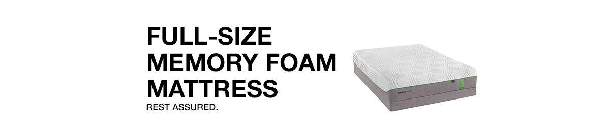 Full Size Memory Foam