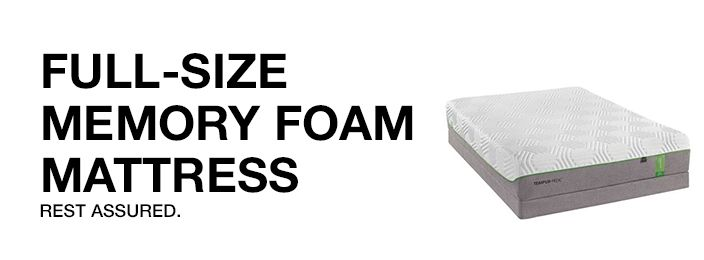 Full Size Memory Foam
