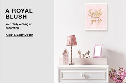 A Royal Blush, You: really winning at decorating, Kids' and Baby Decor
