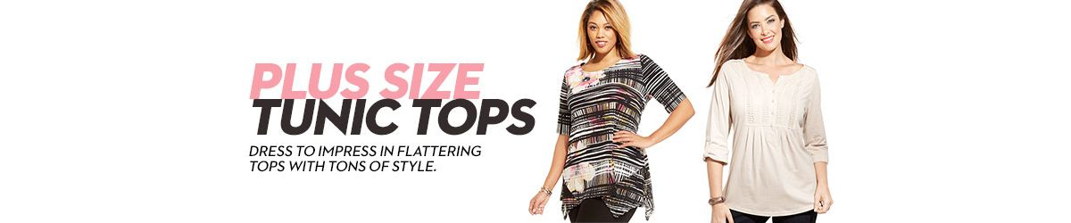 Plus Size Tunic Tops