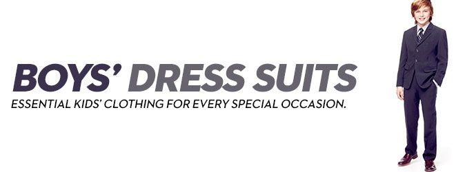 Boys' Dress Suits