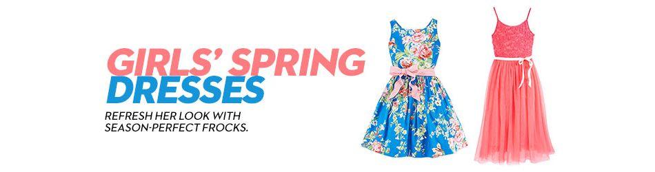 398ae6bcf Girls Spring Dresses: Shop Girls Spring Dresses - Macy's