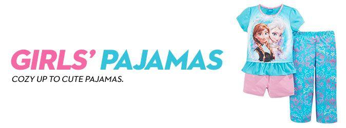 Girls' Pajamas