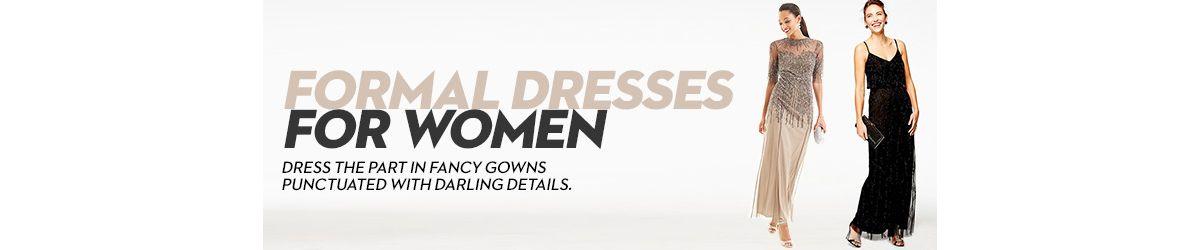 Formal Dresses For Women Shop Formal Dresses For Women Macys