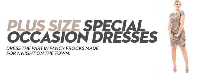 Plus Size Special Occasion Dresses