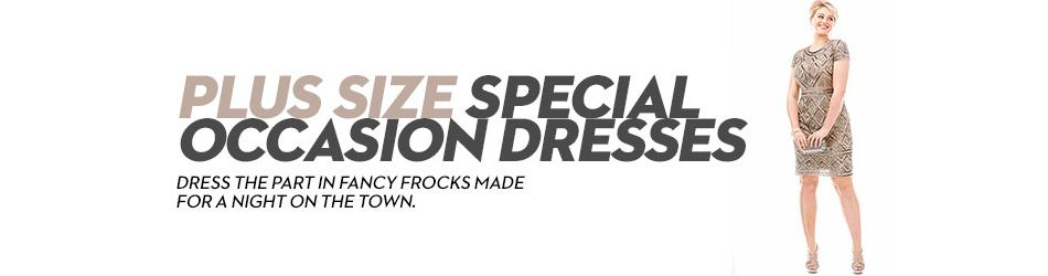 Plus Size Special Occasion Dresses: Shop Plus Size Special Occasion ...