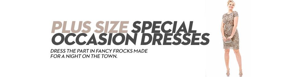 Plus Size Special Occasion Dresses: Shop Plus Size Special ...