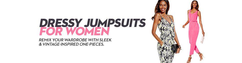 dd4f18adfcf Dressy Jumpsuits For Women  Shop Dressy Jumpsuits For Women - Macy s