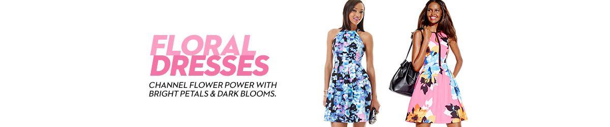 Floral Dresses Shop Floral Dresses Macys