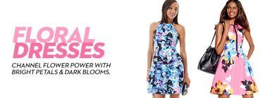 46dd003258f5 Soprano Floral Dresses: Shop Floral Dresses - Macy's