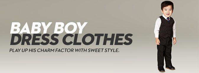 Baby Boy Dress Clothes