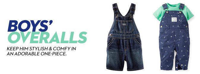 Boys' Overalls