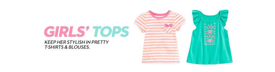565d0a64a Girls Tops: Shop Girls Tops - Macy's