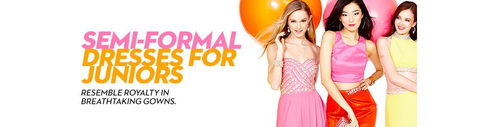 Semi Formal Dresses For Juniors Shop Semi Formal Dresses For