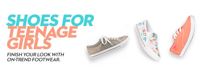 Shoes for Teenage Girls