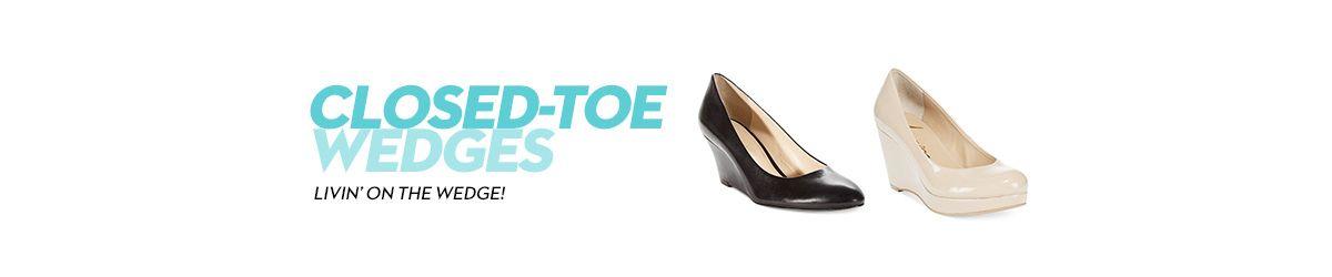 Closed-Toe Wedges