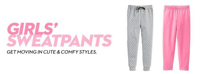Girls' Sweatpants