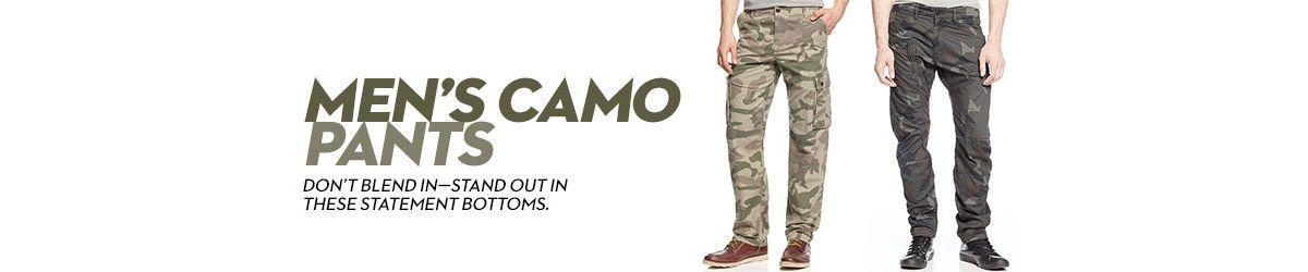 238c0f01065 Men s Camo Pants  Shop Men s Camo Pants - Macy s