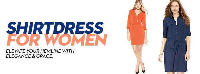 Shirtdress for Women