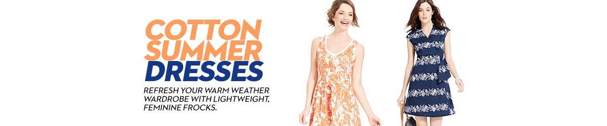 Cotton Summer Dresses Shop Cotton Summer Dresses Macy S