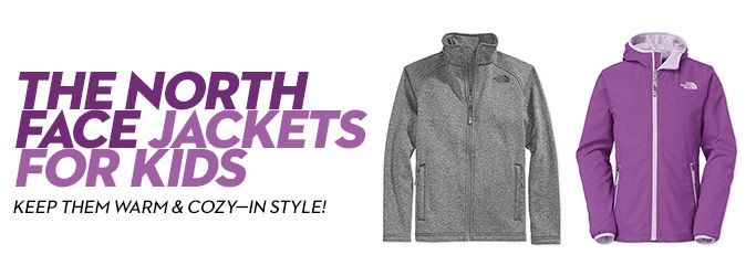 The North Face Jackets for Kids