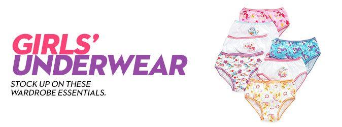Girls' Underwear