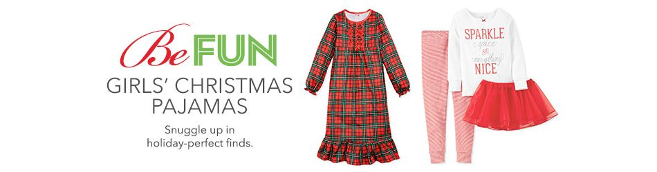 34902ab34 Girls Christmas Pajamas: Shop Girls Christmas Pajamas - Macy's