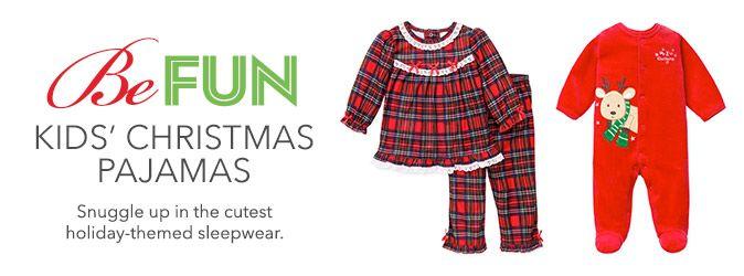 Personalized Christmas Pajamas Kids.Kids Pajamas Sleepwear Robes Macy S